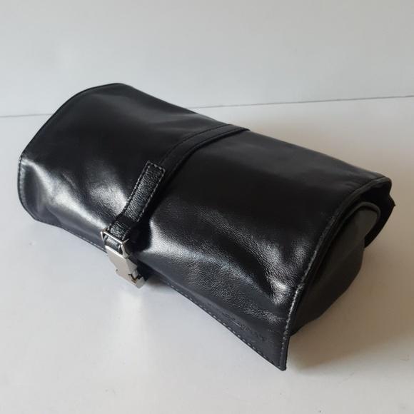 b6637b47897 Giorgio Armani Bags   Leather Toiletry Roll Out Case New   Poshmark
